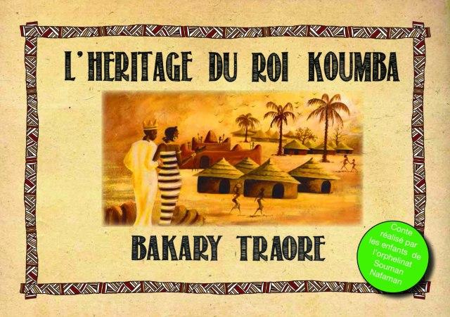 couverture l heritage du roi Koumba